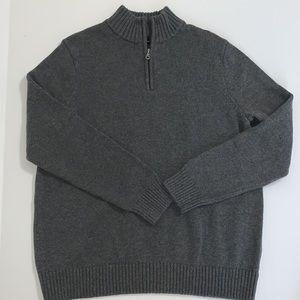 Croft & Barrow Men's Sweater, Gray, XL